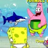 Sponge Bob Square Pants Shell Throwing