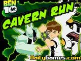 Ben 10 Games: Cavern Run